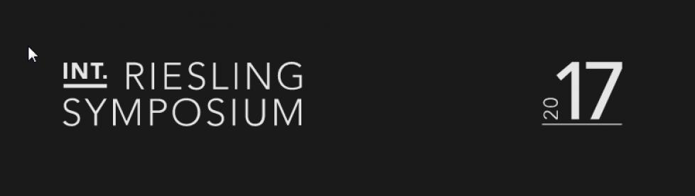 Internationales Riesling Symposium 2017
