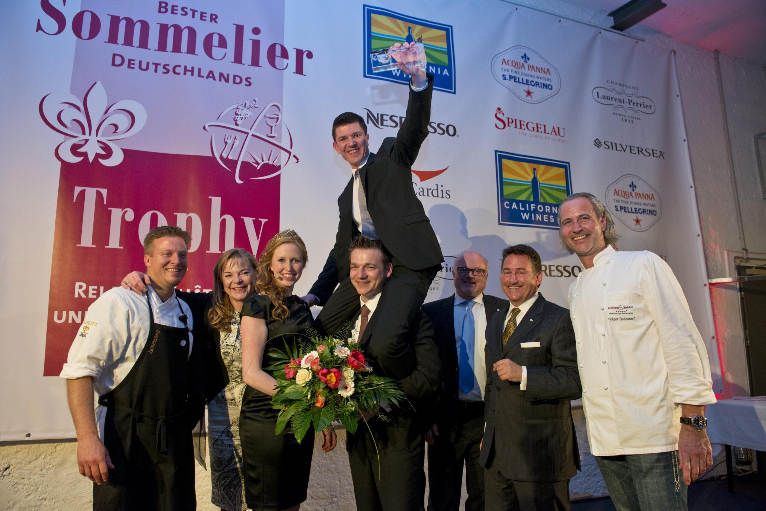 Sommelier Trophy Relais & Châteaux /2013 im Burghotel Nörten Hardenberg - Sommelier-Union Deutschland