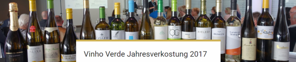 Vinho Verde Jahresverkostung 2017