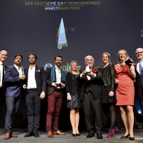 Deutscher Gastronomiepreis 2017 verliehen