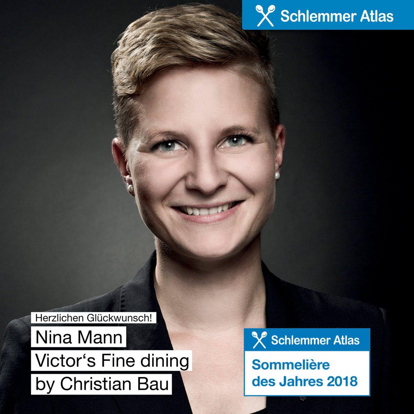 Nina Mann ist Sommelière des Jahres