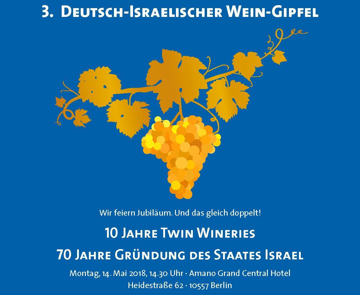 Einladung_10 Jahre Twin Wineries_Weingipfel Berlin 2018