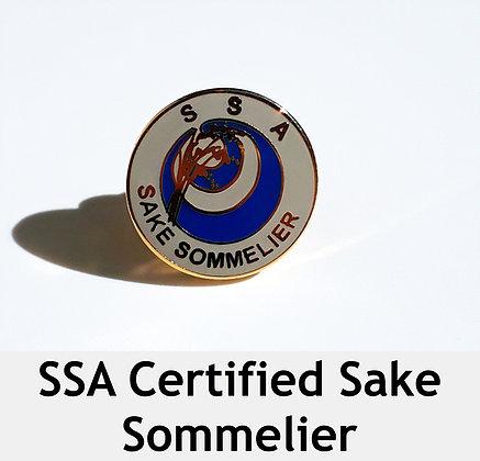 SSA Certified Sake Sommelier