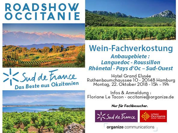 Roadshow Occitanie Sud de France