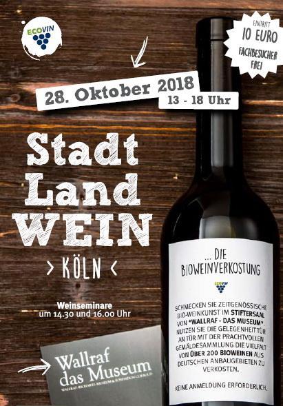 Stadt Land WEIN Köln 28.10.2018
