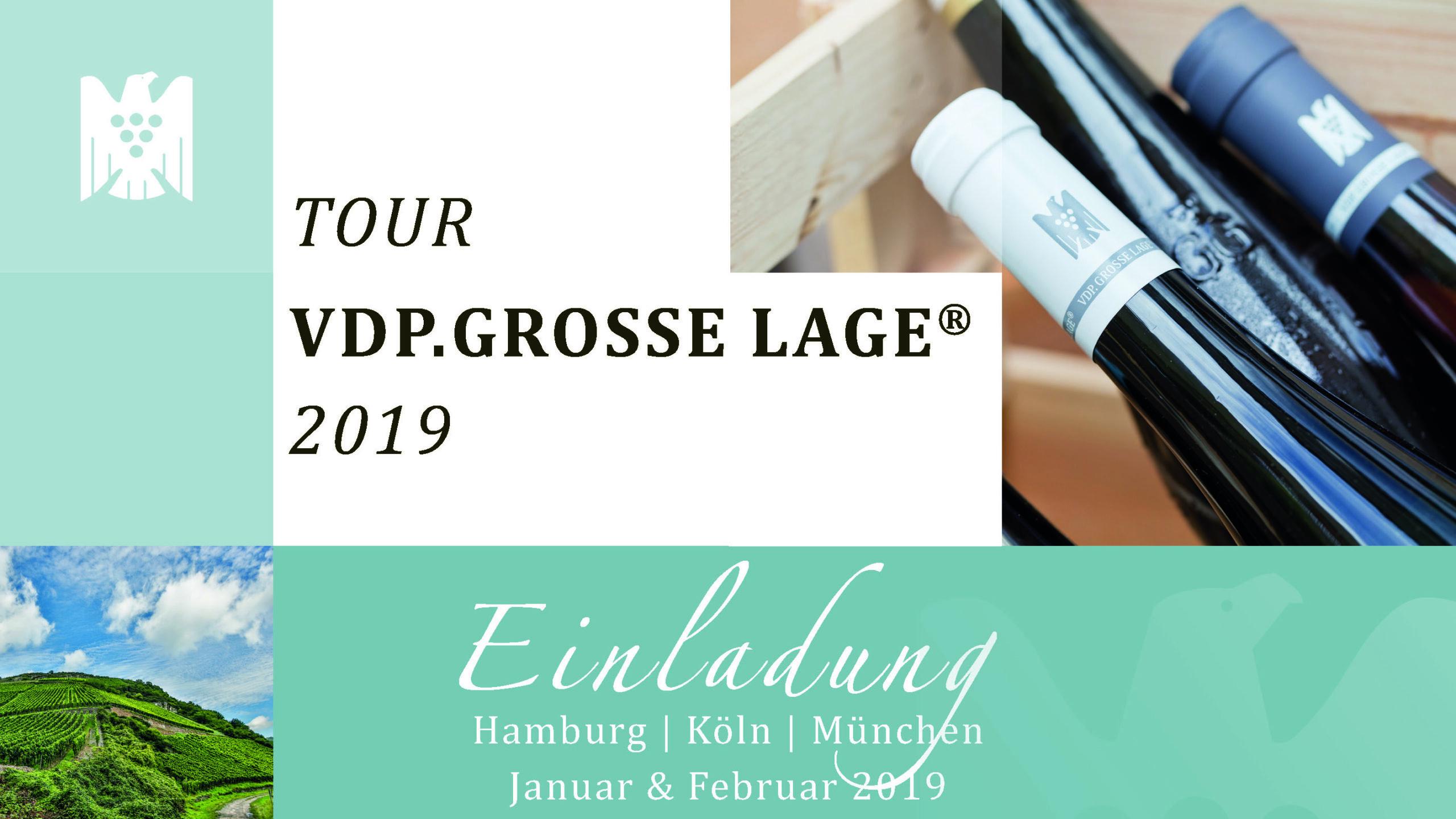 VDP.GROSSE LAGE on Tour - München