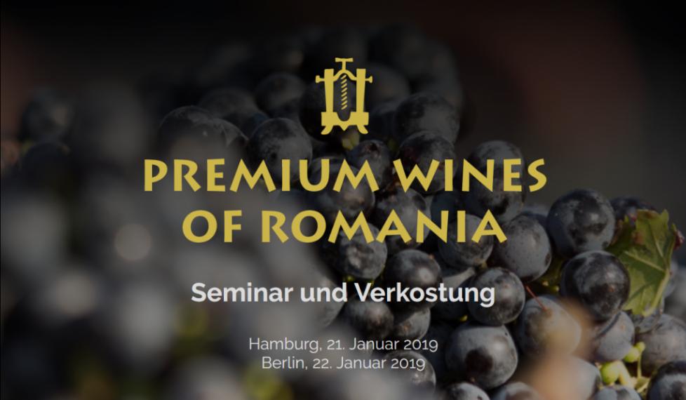 Premium Wines of Romania _ Seminar und Verkostung