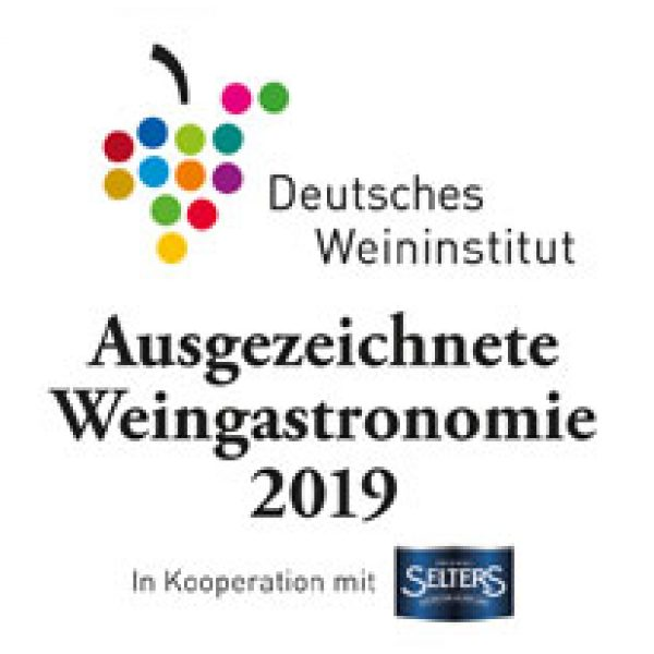DWI ausgezeichnete Weingastronomie 2019