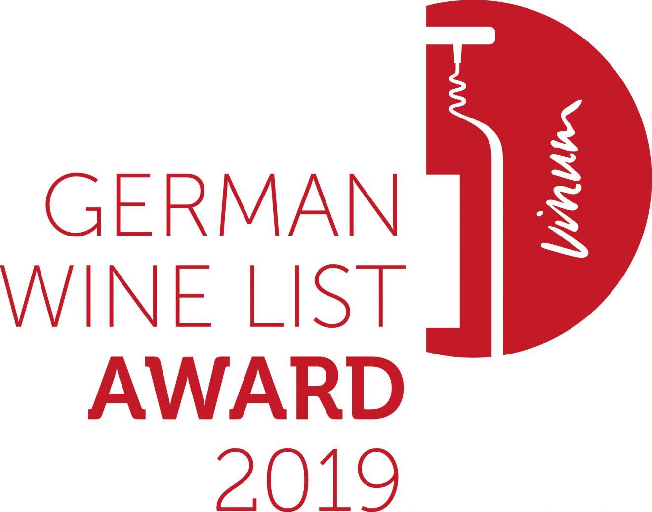 German Wine List Award 2019