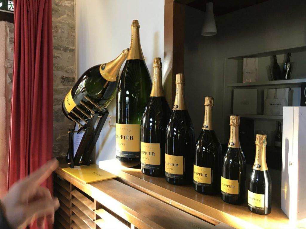 6 Champagne Drappier - Size Matters