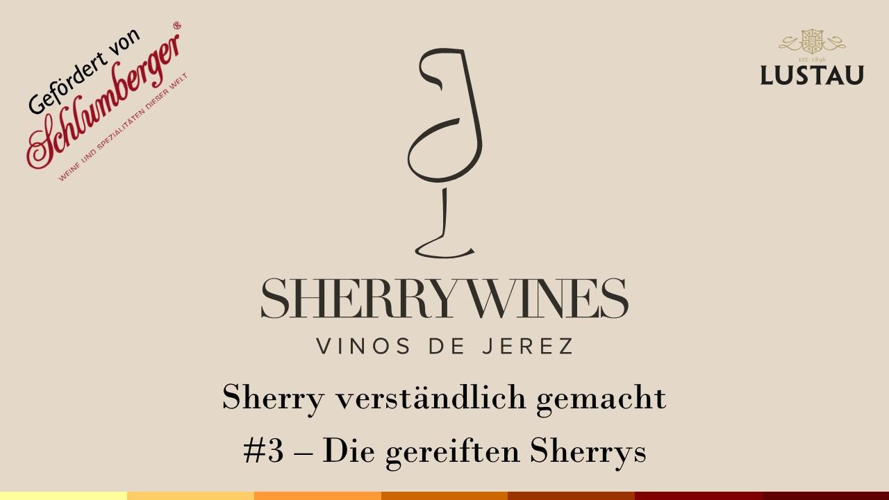 Sherry-Seminare Lustau 2020 #3