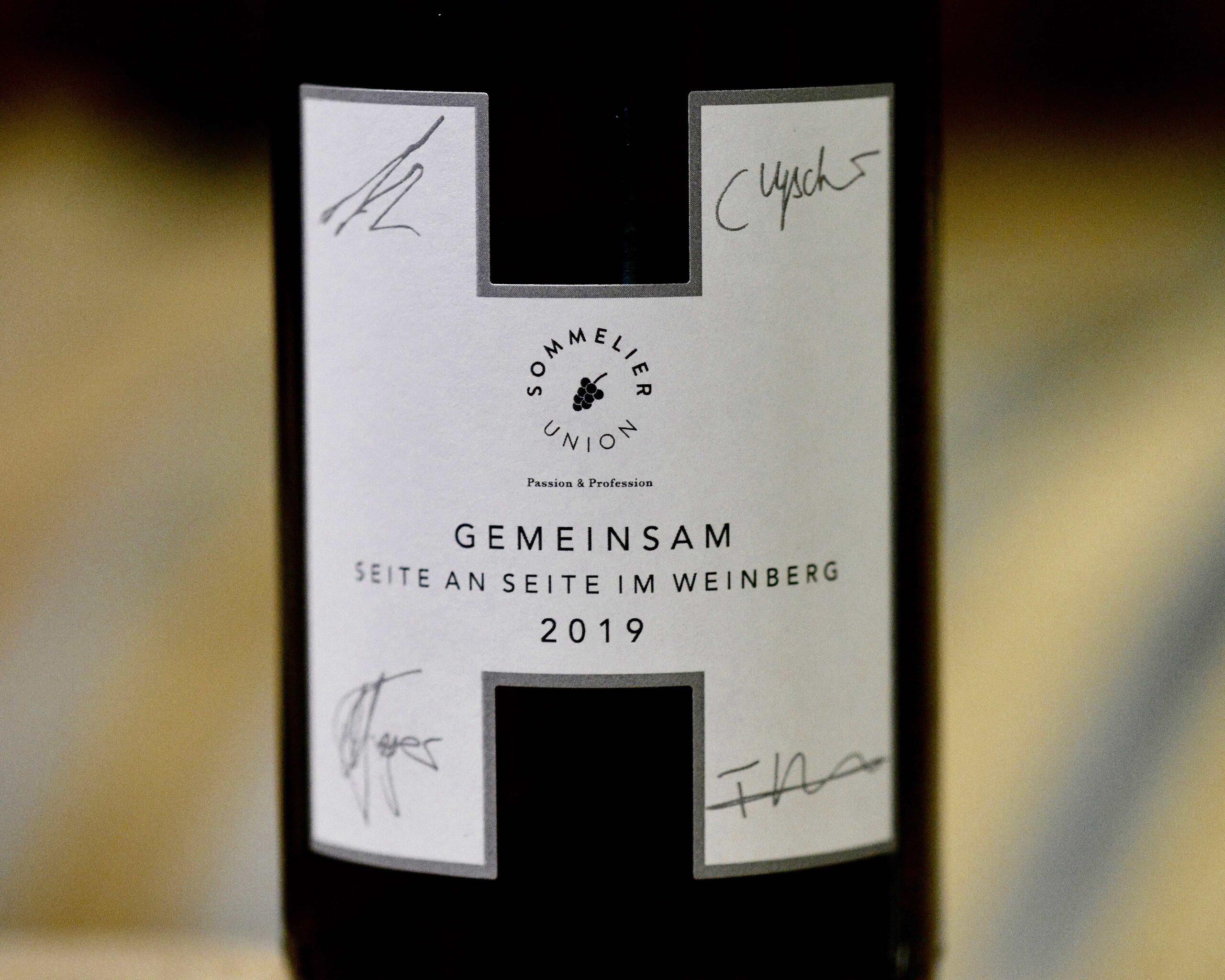 Sommelier Union Seite an Seite im Weinberg vom Weingut Heitlinger 4