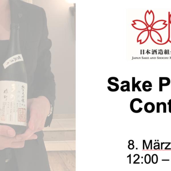 JSS Sake-Pairing Contest