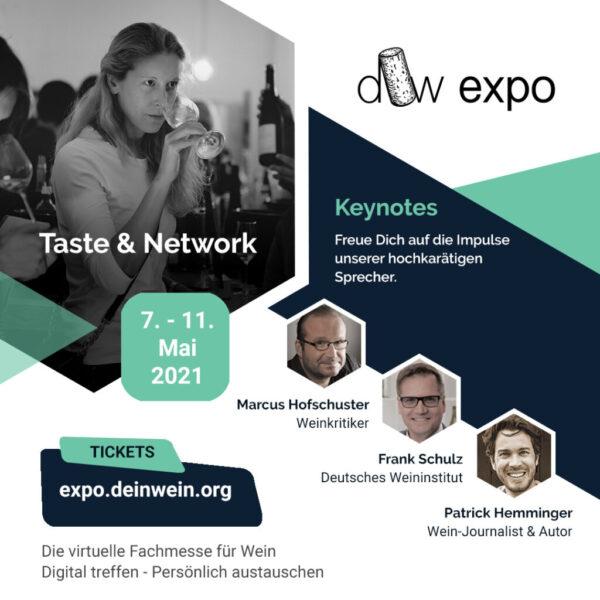 DeinWein Expo – Die virtuelle Fachmesse für Wein