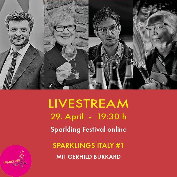 SPARKLINGS ITALIEN – #1 – LIVESTREAM
