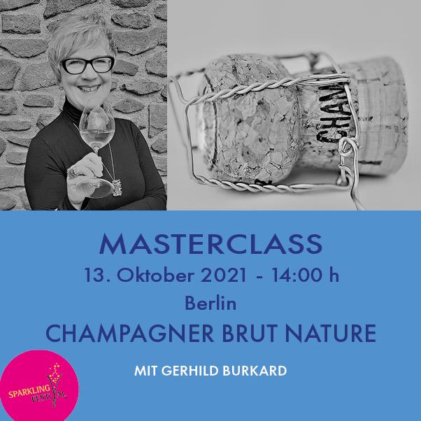 Masterclass Champagner Brut Nature und Extra Brut