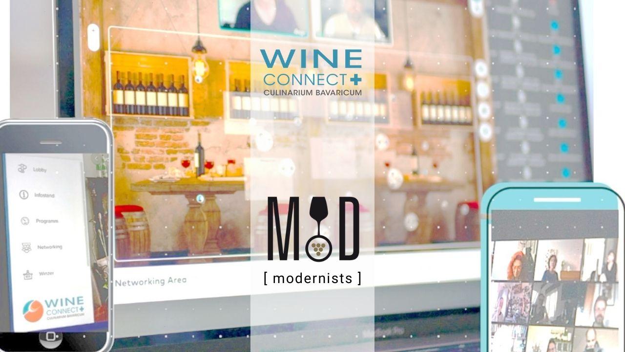 Online – LIVE TASTING Event – MOD – WineConnect+